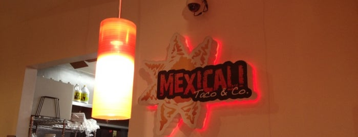 Mexicali Taco & Co. is one of BEST LA TACOS.