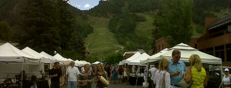 Aspen Saturday Market is one of A day in the summer life: Live like an Aspen local.