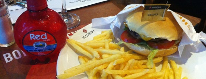 Madero Burger & Grill is one of Senhas.