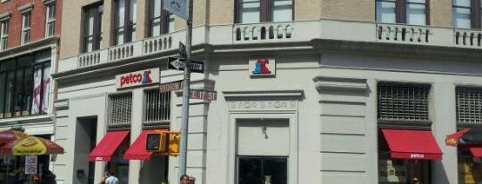 Petco is one of NYC.