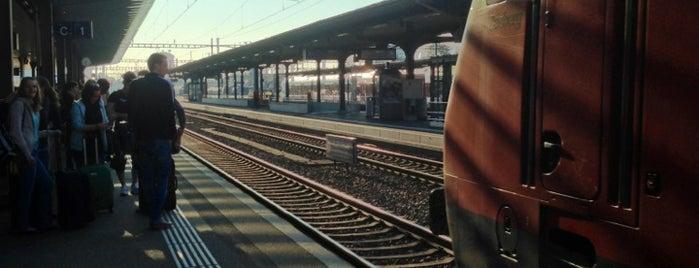 Bahnhof Oensingen is one of Bahnhöfe Top 200 Schweiz.