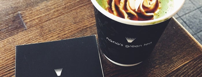 nana's Green Tea 横浜赤れんが倉庫 is one of お気に入りカフェ.