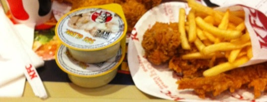 KFC is one of Best places in Bucharest.