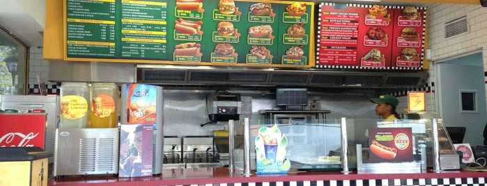 Nathan's is one of Places.