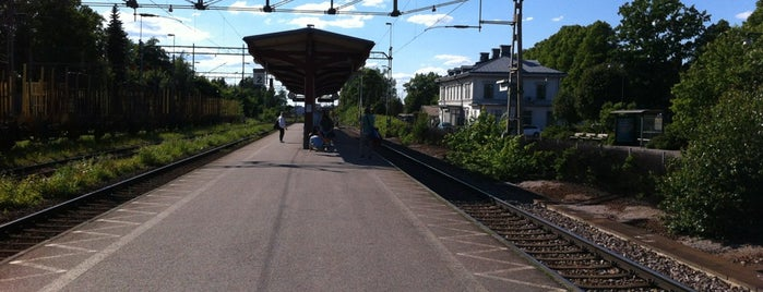 Köping Station is one of Tågstationer - Sverige.