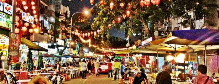 Jalan Alor is one of Kuala Lumpur is HIP!.