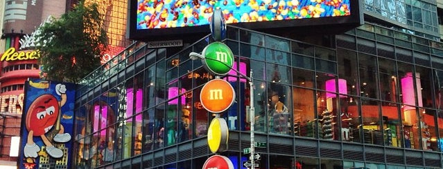 M&M's World is one of Business Stops.