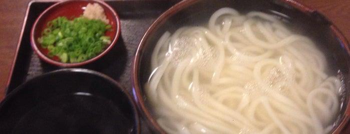 手打ちさぬきうどん丸亀 is one of 美味しいもの.