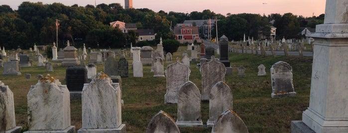 Provincetown Cemetery is one of Landmarks.