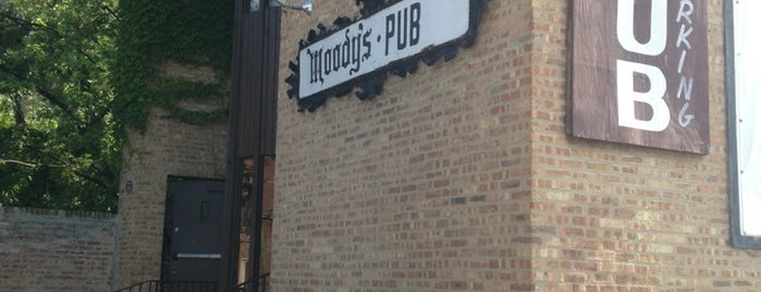 Moody's Pub is one of Where to go: Andersonville + Edgewater.