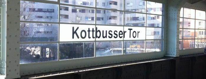 U Kottbusser Tor is one of U-Bahn Berlin.