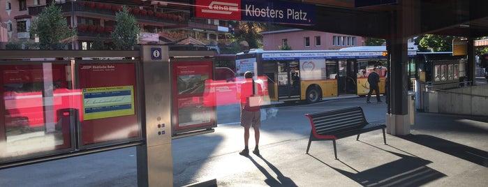 Bahnhof Klosters Platz is one of Bahnhöfe Top 200 Schweiz.