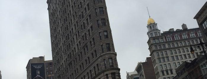 Flatiron Building is one of New York.