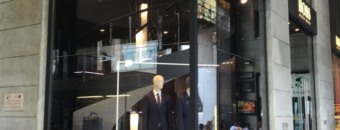 HUGO BOSS Men Store is one of HUGO Fashion Show Pieces.