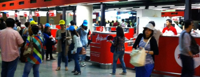 AirAsia - Check-In Area is one of TH-Airport-BKK-1.