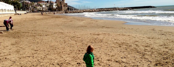 Platja de l'Estanyol is one of BOOM Sitges.