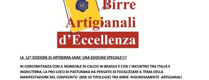 Artebirra Pasturana is one of Novi Ligure e il Novese: un territorio da gustare.