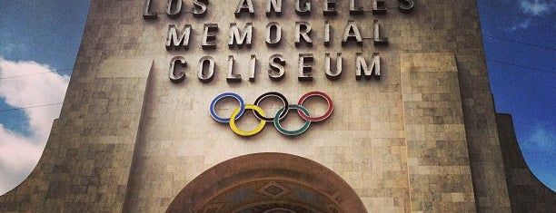 Los Angeles Memorial Coliseum is one of Olympics 2012.
