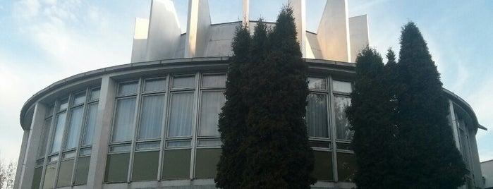 Hvezdáreň a planetárium v Prešove is one of Prešov - The Best Venues #4sqCities.