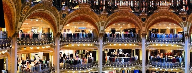 Galeries Lafayette Haussmann is one of Guide to Paris's best spots.