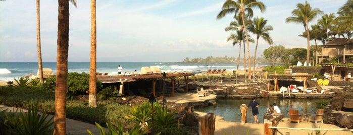 Four Seasons Resort Hualalai at Historic Ka`upulehu is one of Big Island Eats.
