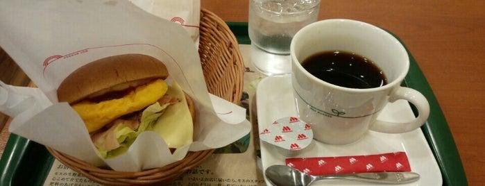 モスバーガー 東大島店 is one of MOS BURGER in Tokyo.