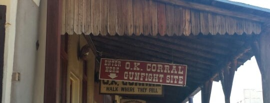 Tombstone is one of AZ Faves.