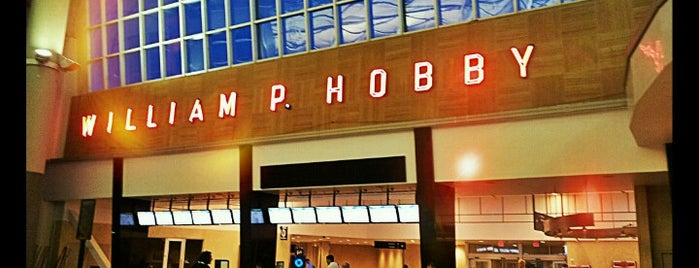 William P Hobby Airport (HOU) is one of Venue.