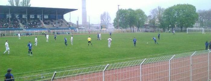 SZVSE Sporttelep is one of Stadionok.