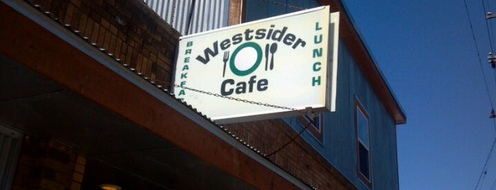 The Westsider Cafe is one of New Places to Explore.