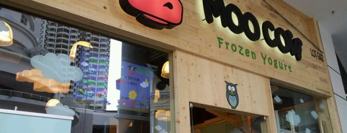 Moo Cow Frozen Yogurt is one of Gurney Paragon.