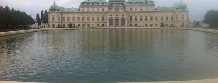 Schlossgarten Belvedere is one of My Wien.
