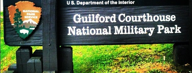 Guilford Courthouse National Military Park is one of Greensboro adventures.