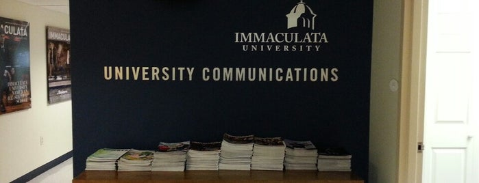 University Communications is one of Immaculata University Campus.