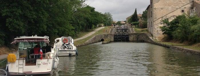Écluse Des Moulins De Trèbes is one of Canal du Midi.