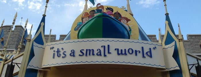 it's a small world is one of All-time favorites in United States.
