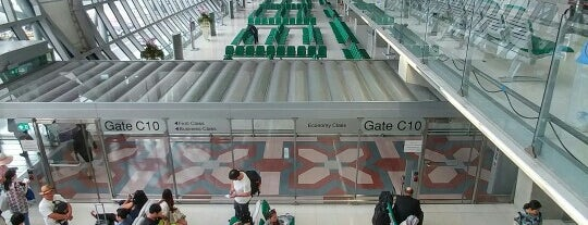 Gate C10 is one of TH-Airport-BKK-1.