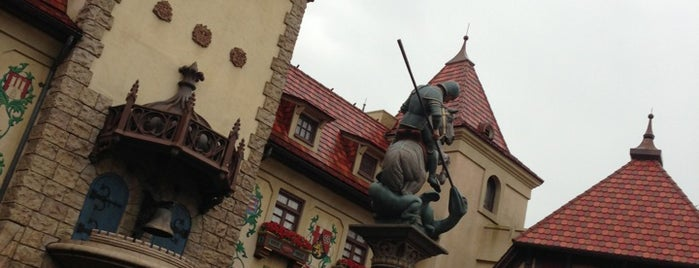 Germany Pavilion is one of Epcot.