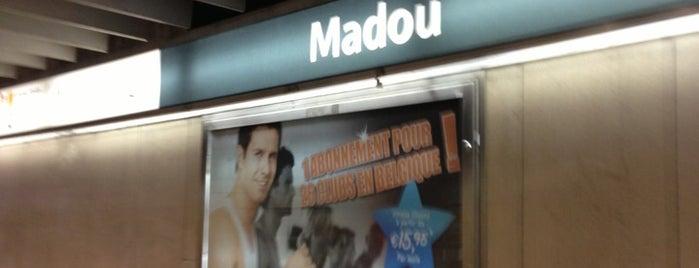 Madou (MIVB / STIB | De Lijn) is one of Métros.
