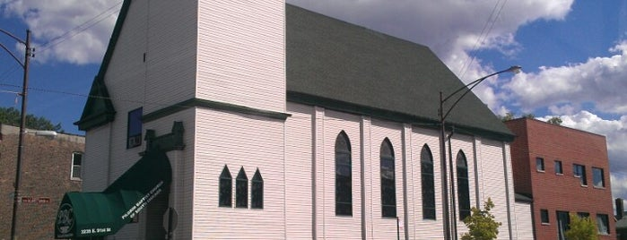 Pilgrim Baptist Church of South Chicago is one of B. Locations.