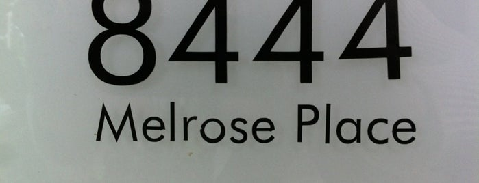 Melrose Place is one of Shopping .