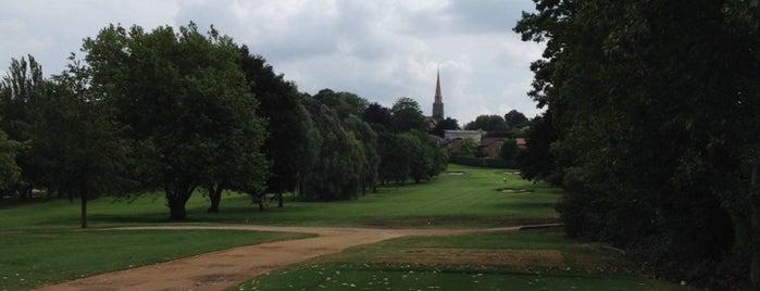 Wimbledon Park Golf Course is one of Wimbledon walk.