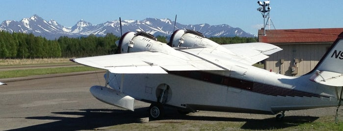 Lake Hood Seaplane Base is one of Anchorage, AK.