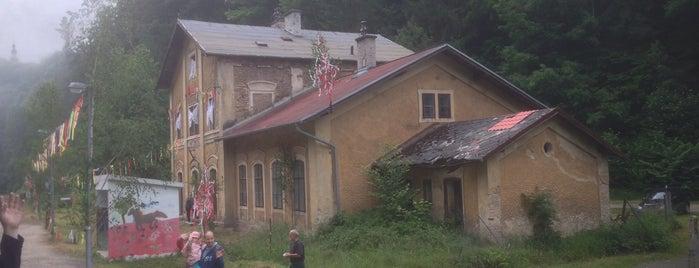 Železniční zastávka Hřebeny is one of Železniční stanice ČR: H (3/14).
