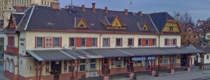 Železniční stanice Uherský Brod is one of Železniční stanice ČR: Š-U (12/14).