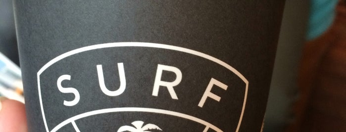 Surf Coffee is one of Things to do.