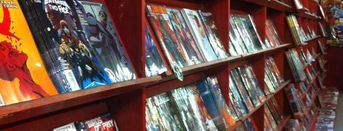 Mega-City Comics is one of Best Comics Bookshops.