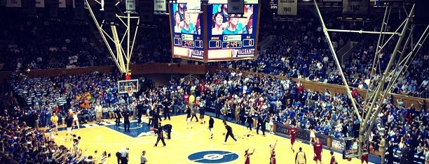 Cameron Indoor Stadium is one of College Basketball Venues.
