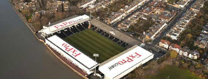 Craven Cottage is one of My Stadium Tour.