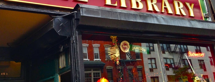 The Library is one of Must-visit Bars in New York.